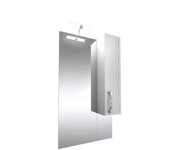 Кристи 60, бел.,шкаф слева/справа, удлиненное